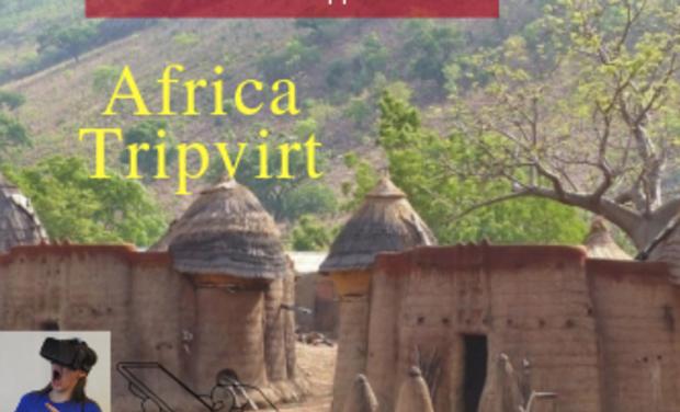 Project visual Africa-Tripvirtt , l'Appli qui te fait visiter l'Afrique