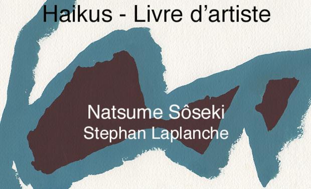 Project visual Haikus - Livre d'artiste