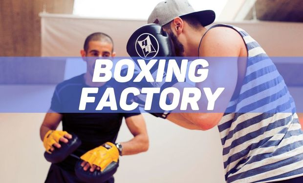 Project visual BOXING FACTORY