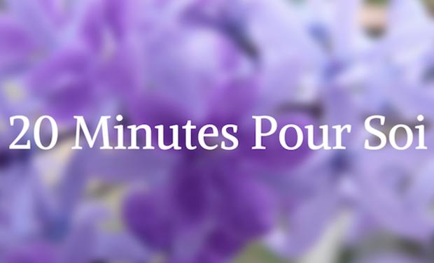 Project visual 20 Minutes Pour Soi !