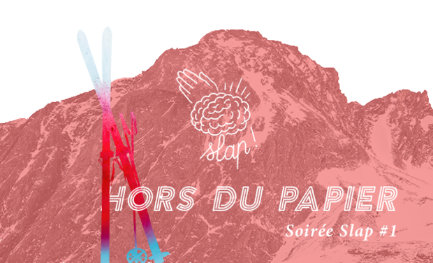 Project visual Slap! Hors du papier