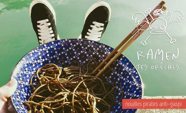Project visual Ramen tes drêches - les nouilles pirates du brasseur