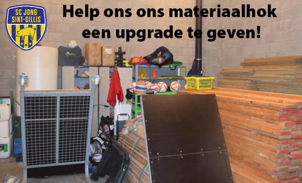 Visueel van project Jong Sint-Gillis - Materiaalhok 2.0