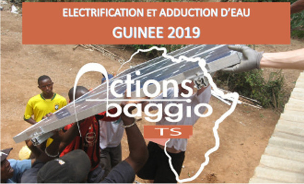 Visuel du projet ABTS présente : Electriguinée