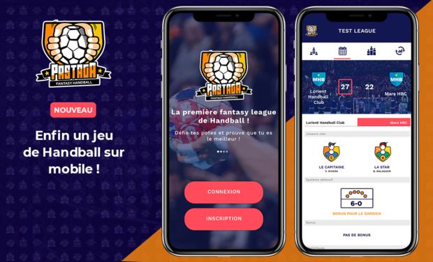Visuel du projet Pastaga - La première fantasy ligue de Handball débarque sur mobile !