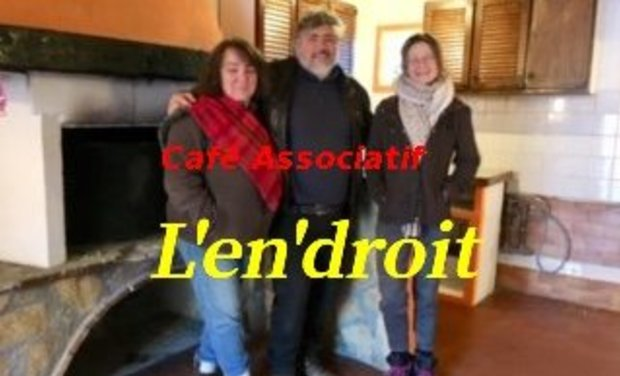 """Visueel van project Café Associatif """"L'en'droit"""""""