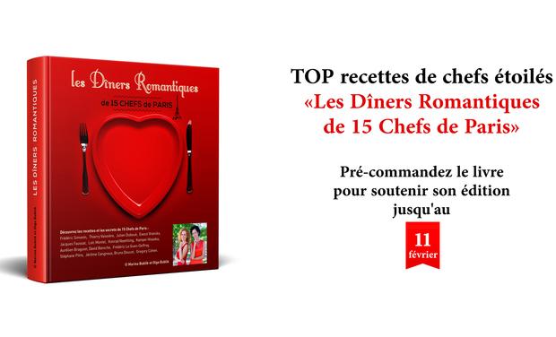 Visuel du projet Les Diners Romantiques de 15 Chefs de Paris
