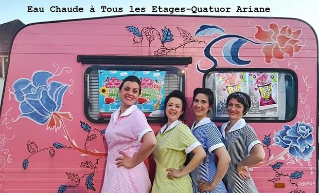 Visuel du projet Le Quatuor Ariane - Avignon 2019
