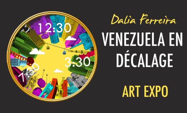 Visuel du projet Venezuela en Décalage: an artist in the exile
