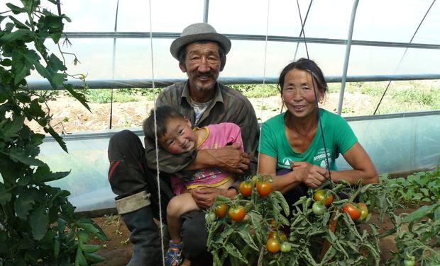 Visueel van project Aidons les familles Mongoles isolées