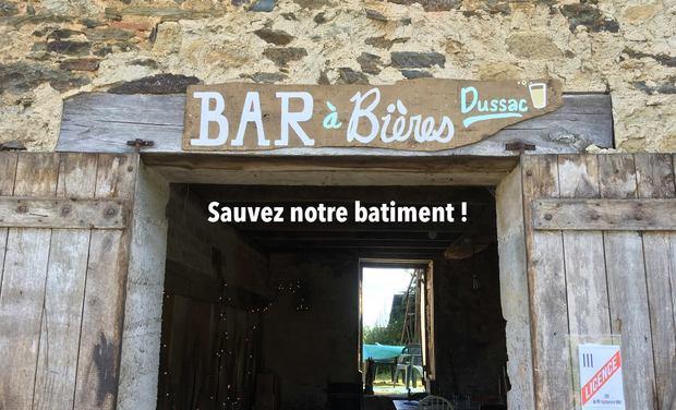 Visuel du projet Bar à Bières Dussac - sauvez notre batiment !