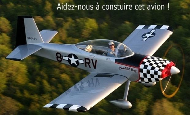Visuel du projet Construire un avion, c'est possible !