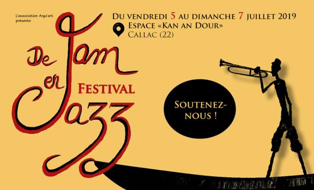 Visuel du projet Naissance du festival De Jam en Jazz !