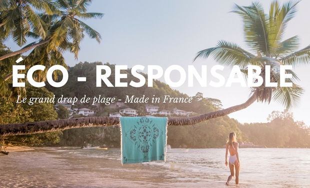 Project visual COTTESEA : Le Grand Drap de Plage , Éco-Responsable