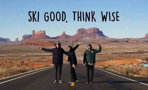 Project visual Ski Good, Think Wise