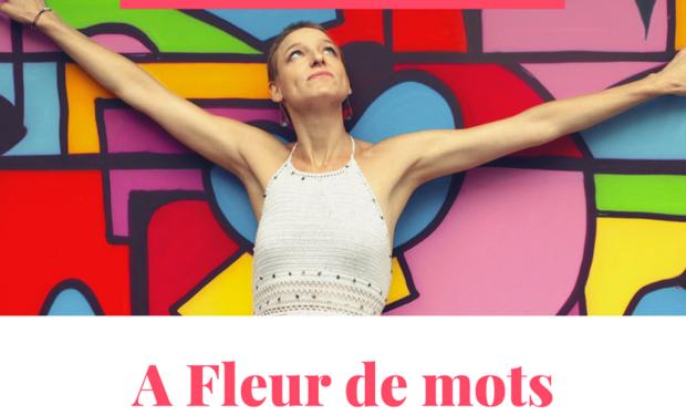 "Project visual Mon premier recueil de poésie ""A Fleur de mots"" -Tatiana GEAY-"