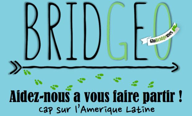 Project visual Bridgeo - Aidez-nous à vous faire partir !
