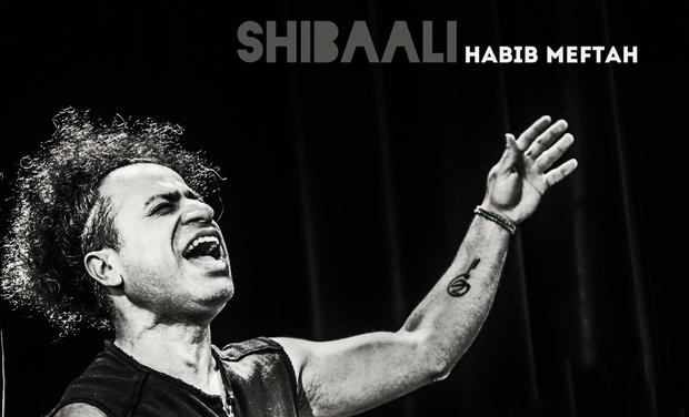 "Visuel du projet HABIB MEFTAH, nouvel album : ""SHIBAALI"""