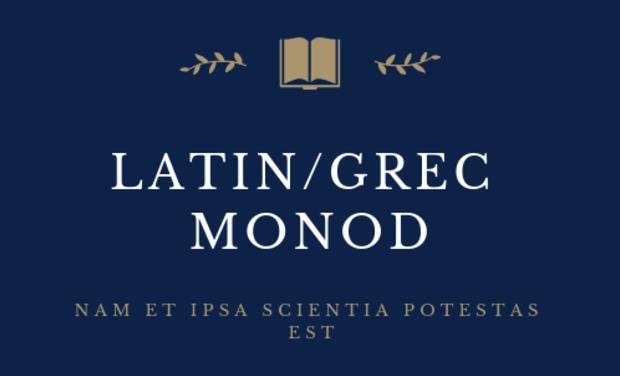 Visuel du projet Création d'un site internet éducatif pour les élèves de Latin
