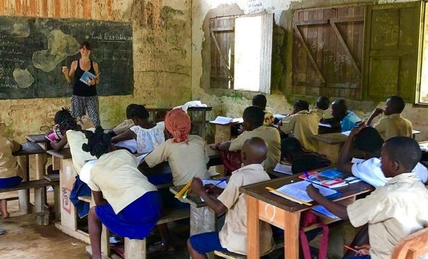 Visueel van project Gogo Congo