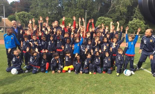 Visuel du projet Aidez les Petits Champions du FC Suryoyés Bruxellois