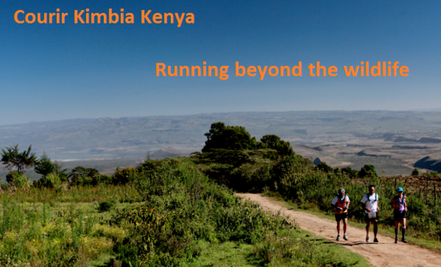 Project visual Courir pour Kimbia Kenya - Running beyond the wildlife