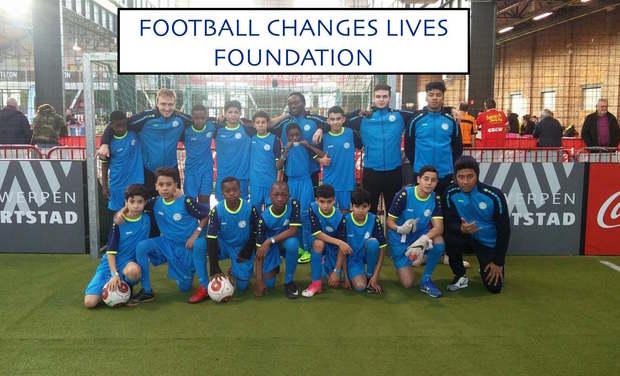 Visuel du projet Football Changes Lives foundation
