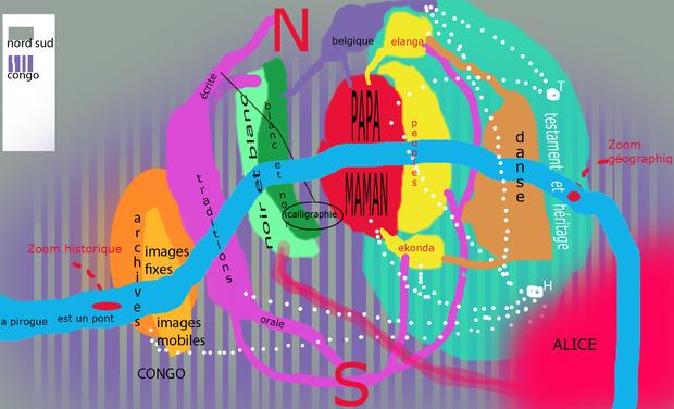 Project visual ANVERS A L'ENVERS
