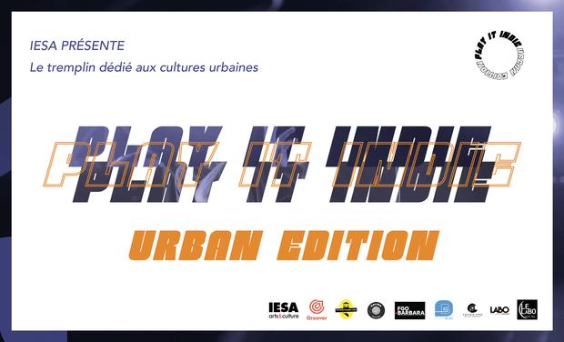 Visuel du projet Tremplin Play It Indie - Urban Edition