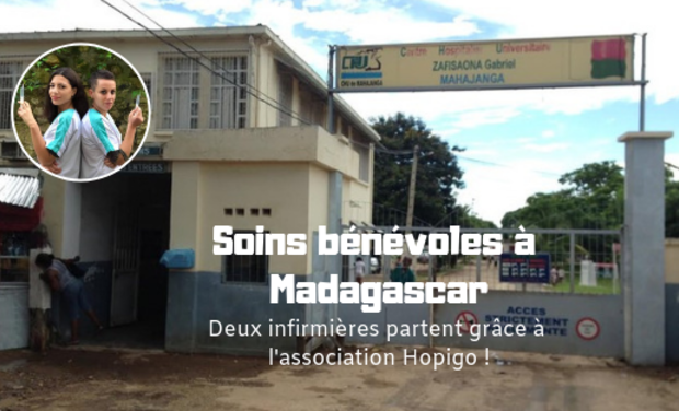 Project visual Soins bénévoles à Madagascar : deux infirmières partent grâce à Hopigo !