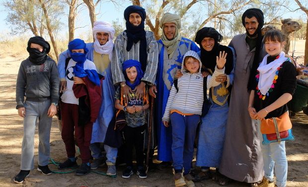 Visueel van project nomades sud Maroc