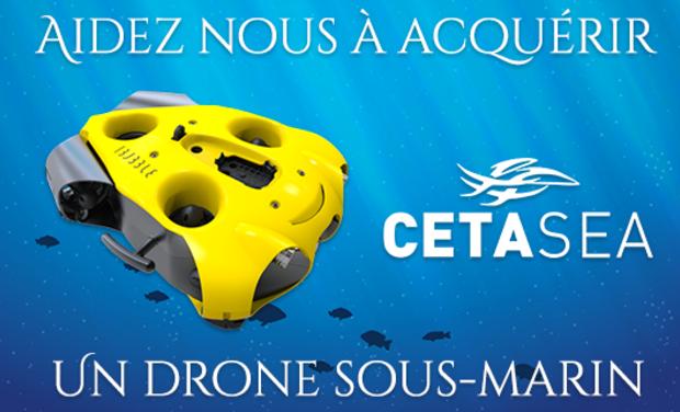 Project visual Un drone sous-marin pédagogique