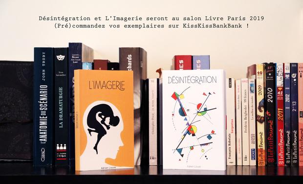 Visueel van project Désintégration au salon Livre Paris 2019 - 16 et 17 mars 2019