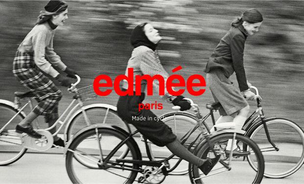 Project visual edmée - Vêtements pour femmes urbaines à vélo