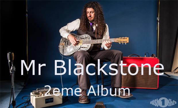 Visuel du projet MR BLACKSTONE - 2ème ALBUM