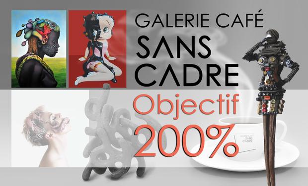 Visuel du projet Galerie-Café associative SANS CADRE