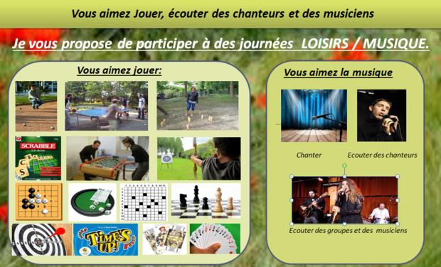 Visuel du projet Journées LOISIRS / MUSIQUE