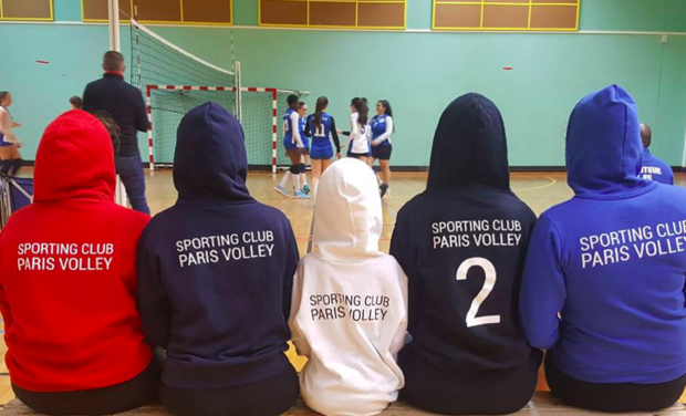 Project visual Sporting Club Paris Volley