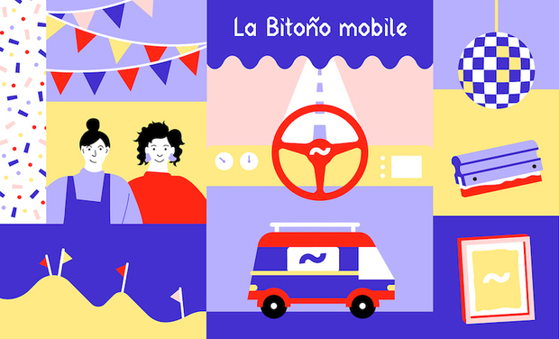 Project visual La Bitoño mobile