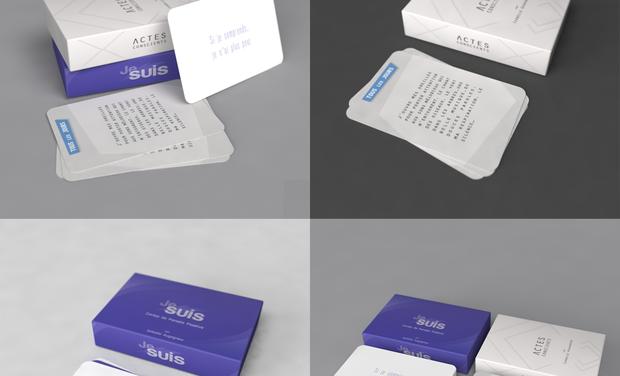 Project visual Jeux de Cartes Je Suis et Actes Conscients