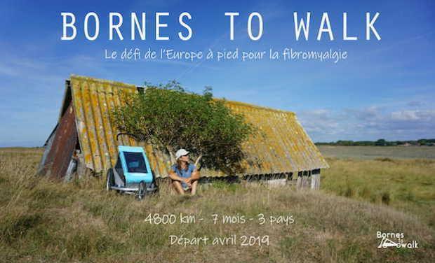 Visuel du projet Moi et mon bolide à roulettes à travers l'Europe au profit de la fibromyalgie