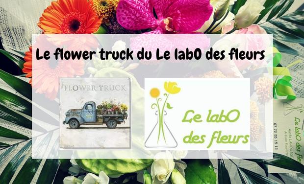 Project visual Flower truck : Le labO des fleurs