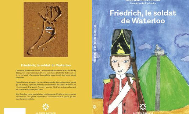 Visuel du projet Friedrich, le soldat de Waterloo
