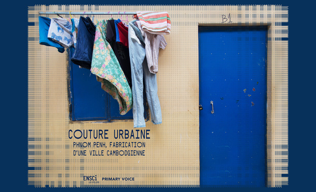Project visual Couture Urbaine, Fabrication d'une ville cambodgienne