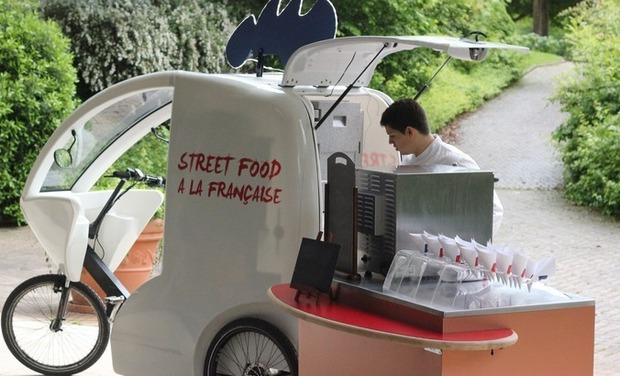 Project visual Street Food à la Française