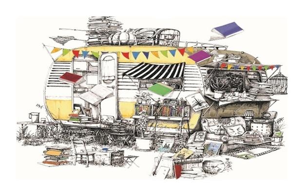 Project visual La caravane des livres