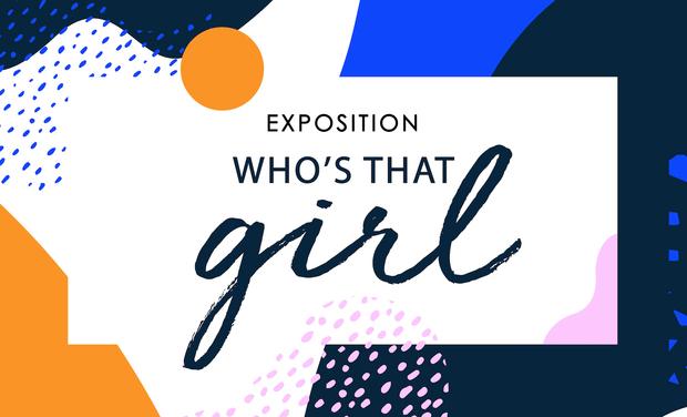 Visuel du projet Expo GLORIA ! Who's that girl