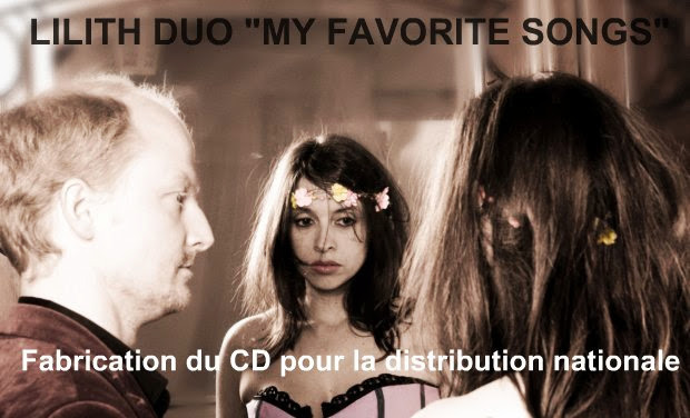 "Visuel du projet Lilith Duo ""My Favorite Songs"""