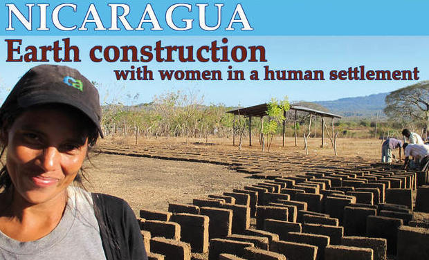 Visuel du projet Nicaragua : construire en terre avec les femmes d'un bidonville