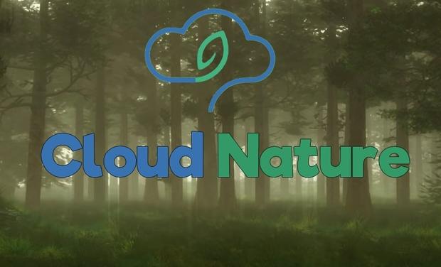 Visueel van project Cloud Nature - Transformez vos fichiers en arbres !